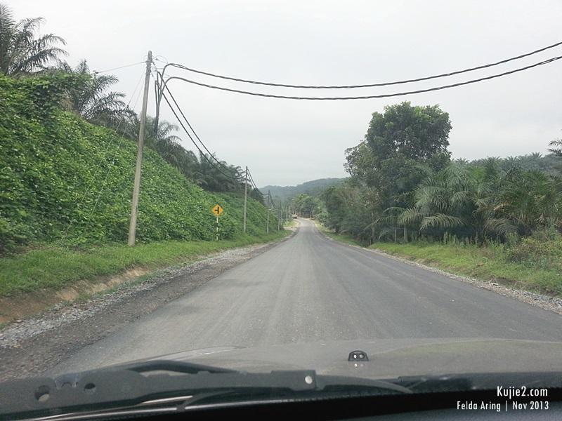 Jalan Felda Aring 2013