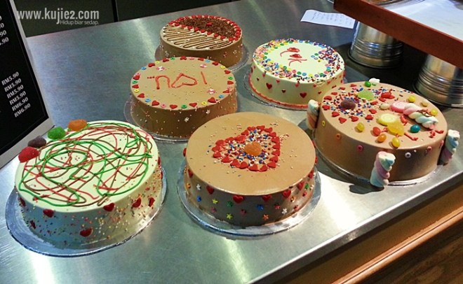 contoh hias kek