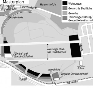 Masterplan Tempelhofer Feld.