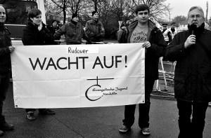 Demo gegen Nazis.Foto: mr
