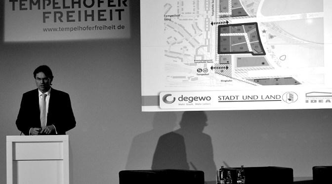 Berliner Senat wirbt für Planierraupen