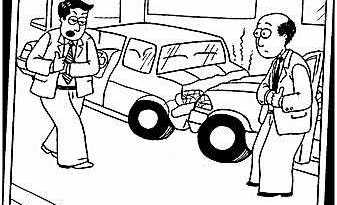 Accident Cartoon