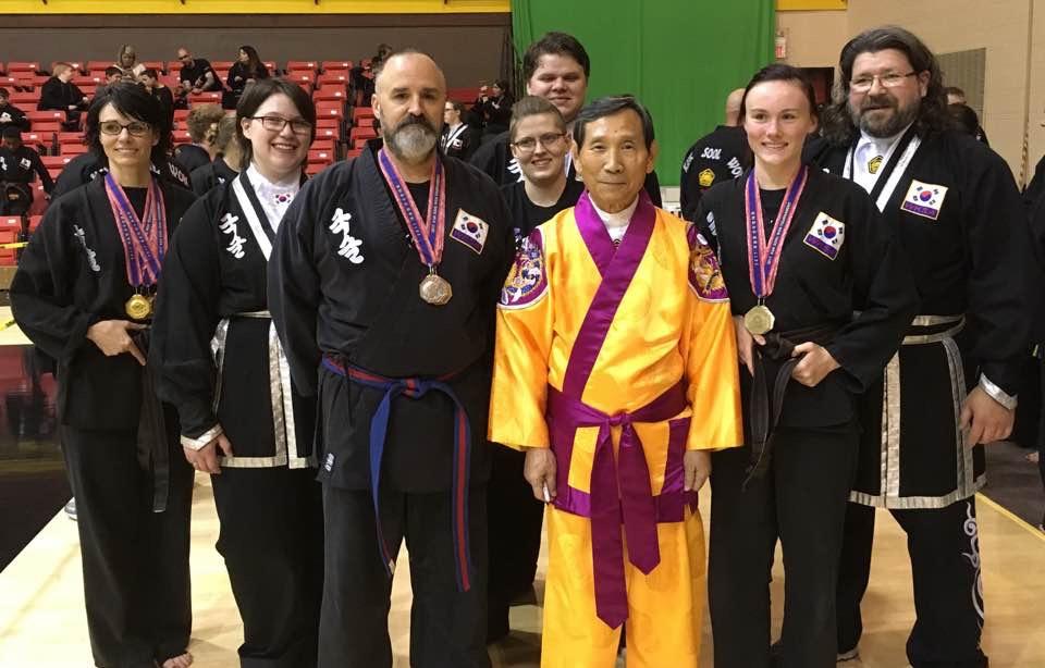 2017 Kuk Sool Won of Muncie tournament team at the World Kuk Sool Association Midwest Tournament in St. Louis, Missouri.