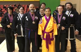 2017 Kuk Sool Won of Muncie tournament team at the World Kuk Sool Association Midwest Tournament in St. Louis, Missouri.