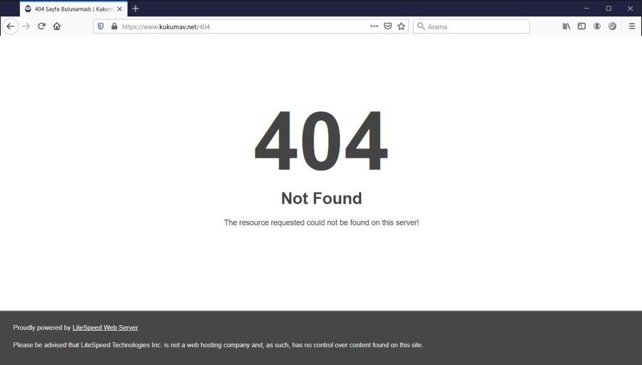 404 Sayfası Nedir?