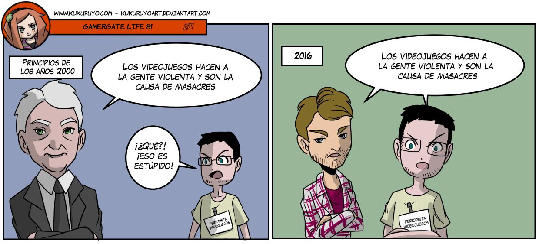 Gamergate life 81 (castellano)