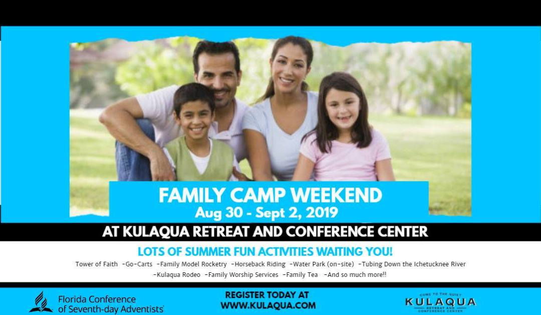 2019 Family Camp Weekend