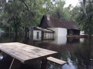 kulaqua retreat and conference center hurricane irmaA Frame building flooded water images florida's best christian retreat location kulaqua