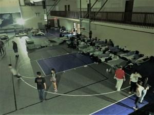 kulaqua retreat and conference center hurricane irma flooding evacuees gymnasium images florida's best christian retreat location kulaqua