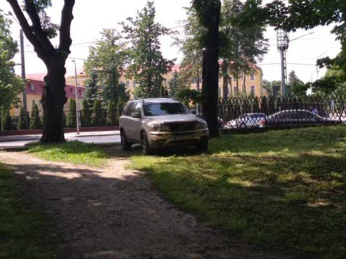 Паркування у Львові у Стрийському парку