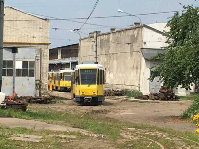 німецькі трамваї у Львові