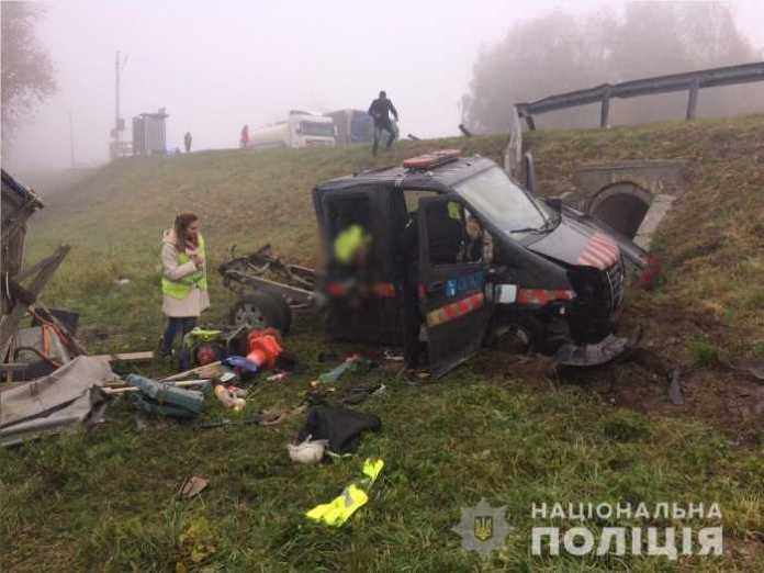 На Львівщині загинула одна особа, ще шестеро – травмовані