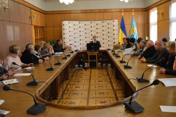 У Львівській ОДА відбулась зустріч з родинами Героїв Небесної Сотні