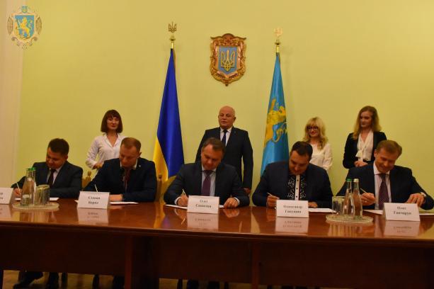 У Львівській ОДА підписали меморандум щодо створення пам'ятника Чортківській офензиві