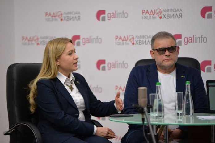Виключно українці визначатимуть те, хто буде президентом України, – Оксана Юринець