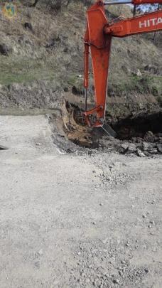 На Львівщині триває ремонт дороги Турка-Східниця, фото ЛОДА