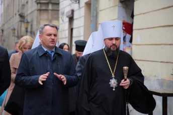 Митрополит Епіфаній відзначає День ангела. Фото: Олег Синютка.