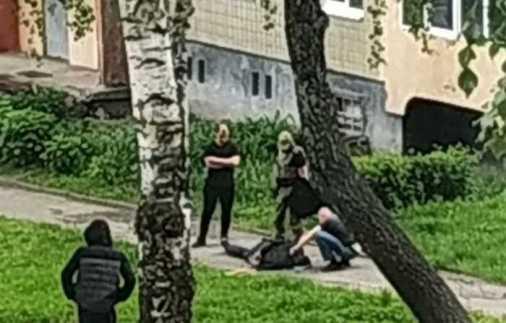 У Львові на Сихові стріляли. Фото Варта-1