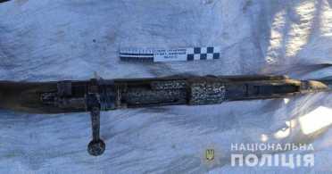 У мешканця Буського району на Львівщині вилучили зброю