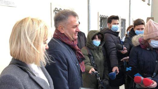 Олег Синютка із дружиною проголосував у Львові