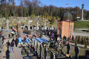 На Личакові перепоховали 428 останків жертв політичних репресій