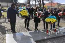 Делегація з Львівщини вшанувала пам'ять 366 українців, вбитих у Павлокомі