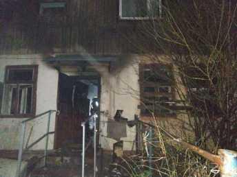 У Дрогобичі під час пожежі загинув 71-річний чоловік. Фото: ДСНС