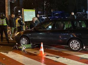 У Львові жінка-водій збила дівчину на електросамокаті, фото Варта-1