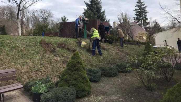 У львівському Домі Франка відновили сад