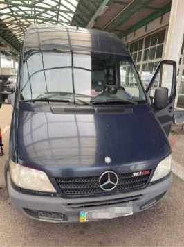 На кордоні з Польщею затримали мікроавтобус з ознаками знищення VIN-коду, фото ДПСУ