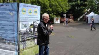 У Львові встановили копію збитого російськими найманцями гелікоптера Мі-8, фото Суспільне