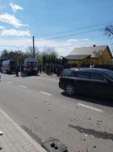 На Львівщині у жахливій автотрощі постраждало п'ятеро осіб, фото Варта-1