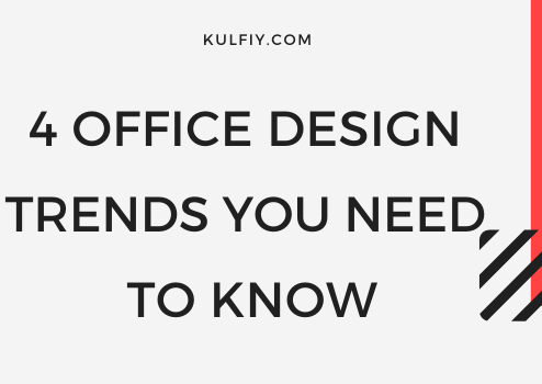 4 Office Design Trends, Office space in Chicago