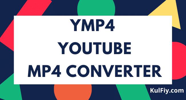 YMP4 YouTube MP4 Converter