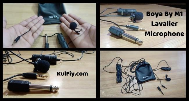 boya by m1 lavalier microphone