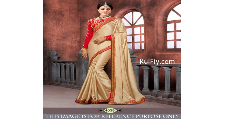 Chinon-Silk-Plain-Saree