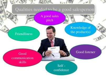 Image result for full skilled salesperson