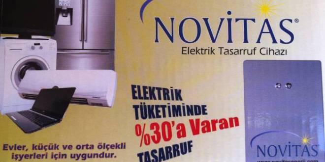 novitas elektrik tasarruf cihazi