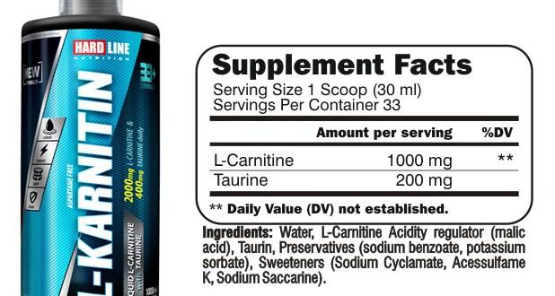 Hardline Nutrition L-Karnitin Sıvı 1000 ml Kullanıcı Yorumları