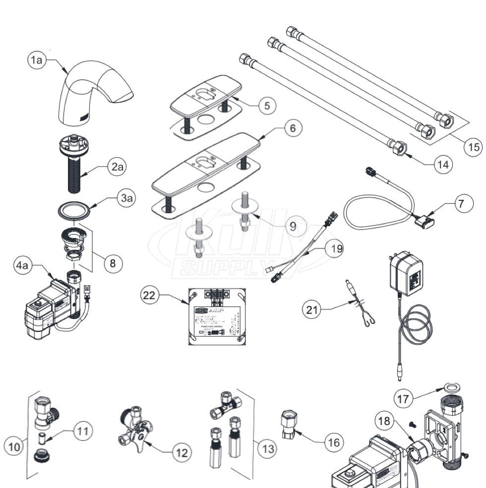 zurn z6950 xl s aqua fit serio faucet parts breakdown
