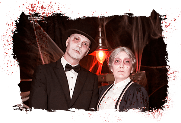 Kulpsville Slaughterhouse Mr. & Mrs. Fleishmann: A Hanlon Creative Haunted Story
