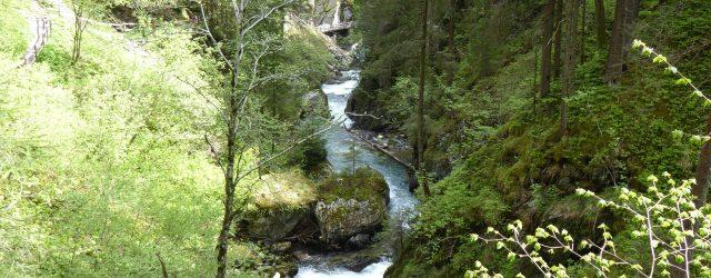 Gilfenklamm in Südtirol