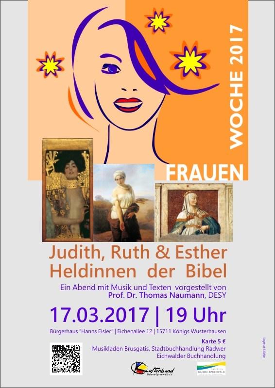 Judith, Ruth und Esther - Heldinnen der Bibel