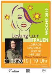 """Lesung mit Christine von Brühl: """"Theodor Fontanes Frauen"""""""