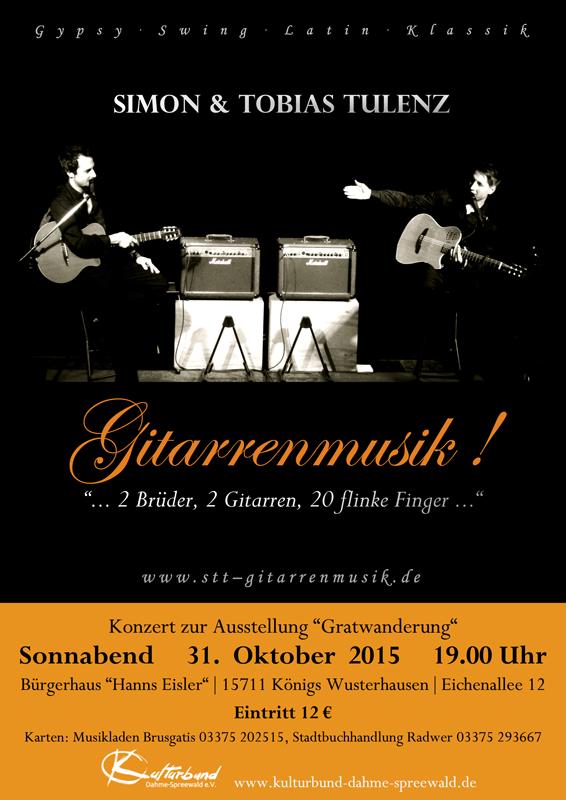 Gitarrenkonzert mit Simon & Tobias Tulenz