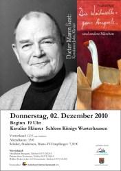 """Dieter Mann liest """"Die Weihnachtsgans Auguste"""""""