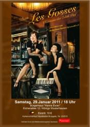 "Duo ""Les Gosses"" - Chansons der Edith Piaf"