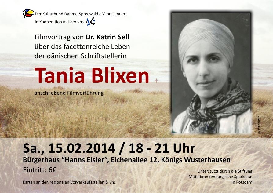 Literatur & Film: Tania Blixen
