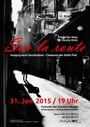 Sur la route – Ein Streifzug durch die Chansons der Edith Piaf
