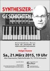 Synthesizergeschichten mit Holger Kunow